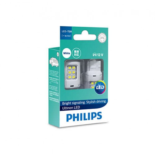 Philips 11065ULWX2 W21 LED white 11065 ULW 12V комплект 2 шт